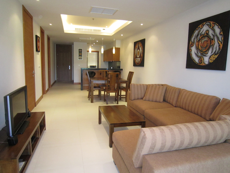 Living room - condominium Black Mountain Golf